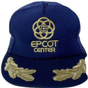 Vintage Truckers Hat Disney World Epcot Center